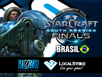 14 y 15 de julio se juegan las StarCraft II World Championship Series: South America Finals